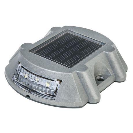 Paradise Gl23020al Solar Cast Aluminium Led Deck Light
