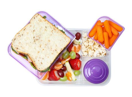 Sistema To Go Collection Bento Box and Food Storage Container, 6.9 Cup, Clear, Assorted Color Klips - image 7 of 7