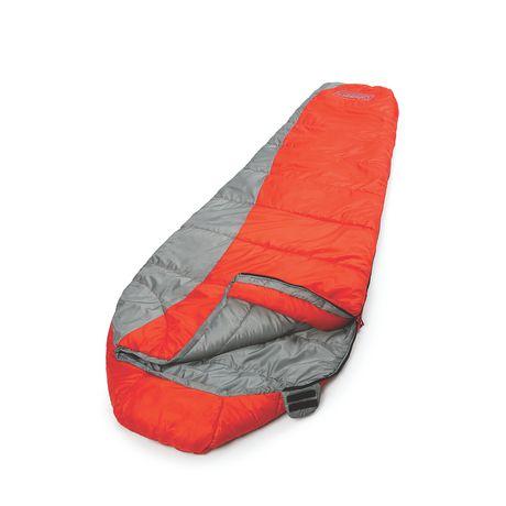 coleman backpacking mummy sleeping bag walmart ca