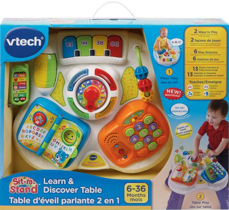 VTech® English Version Sit-to-Stand™ Learn & Discover Table - (Walmart Exclusive) - image 6 of 6