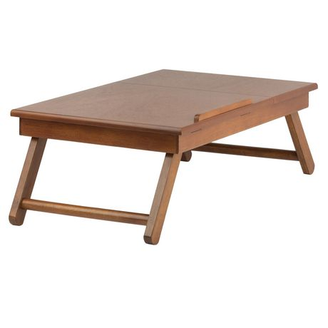 Anderson Lap Desk, Flip Top With Drawer, Foldable Legs   Image 1 Of 8 ...