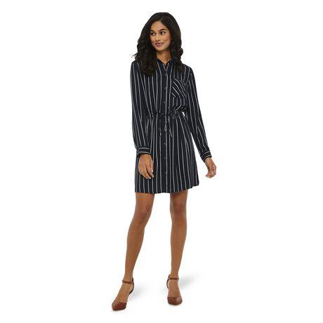 George Women's Striped Shirt Dress - image 5 of 6