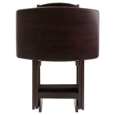 Ensemble de tables à collations surdimensionné 5 pièces Dylan - image 3 de 9