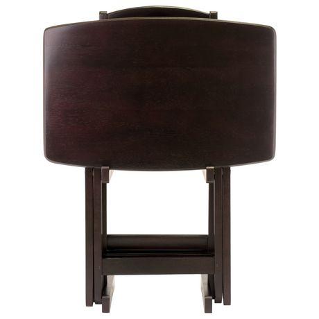 Ensemble de tables à collations surdimensionné 5 pièces Dylan - image 5 de 9