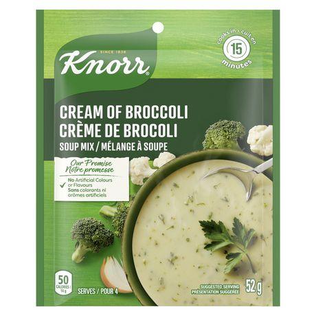 Mélange à soupe Knorr  Crème de Broccoli 52 GR - image 2 de 7