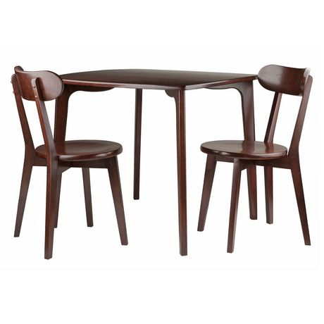 Pauline 3 Pc Set Dining Table With 2 Chairs Walmart Canada