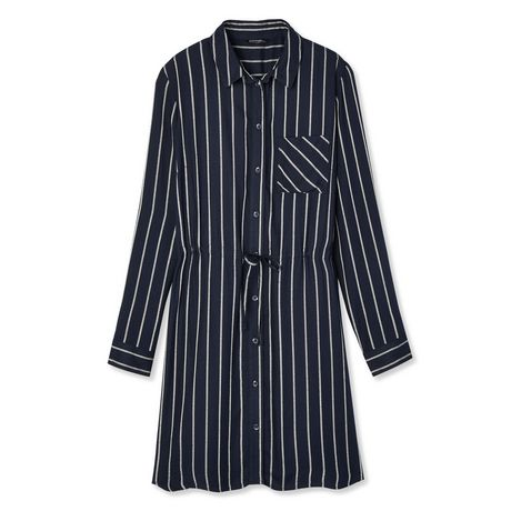 George Women's Striped Shirt Dress - image 6 of 6