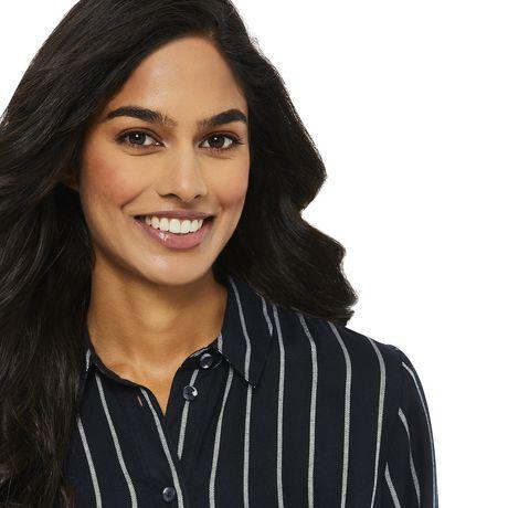 George Women's Striped Shirt Dress - image 4 of 6