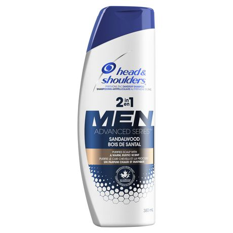 Head and Shoulders Advanced Series Sandalwood 2-in-1 Shampoo and Conditioner for Men - image 1 of 4