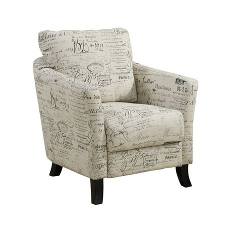 Specialties vintage french fabric accent chair 1 chair 22 reviews