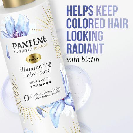 Pantene Pro-V Nutrient Blends Illuminating Colour Care Shampoo - image 3 of 7