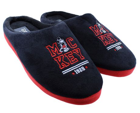 ef650a6e14d Mickey Mouse Slippers for Men - image 1 of 3 ...