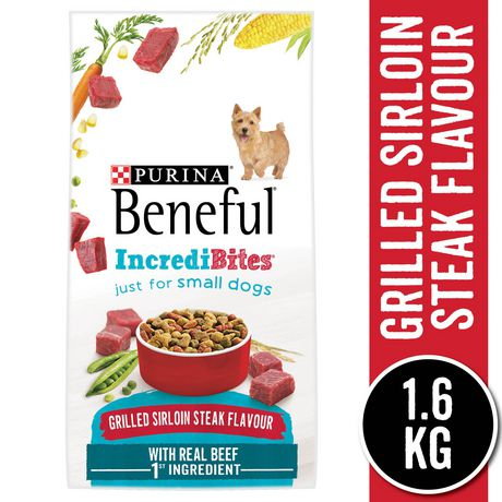 Beneful Incredibites Dry Dog Food for Small Dogs, Grilled Sirloin Steak Flavour - image 1 of 9