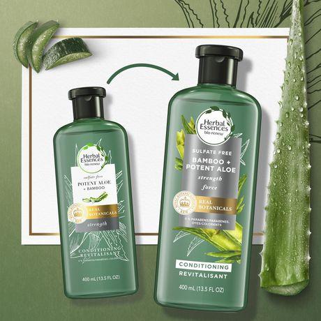 Revitalisant fortifiant Herbal Essences bio:renew, puissant aloès+bambou - image 4 de 7