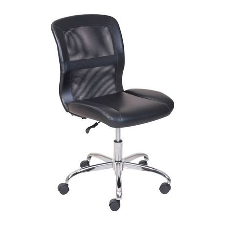 Mainstays Vinyl and Mesh Task Office Chair - image 2 of 5