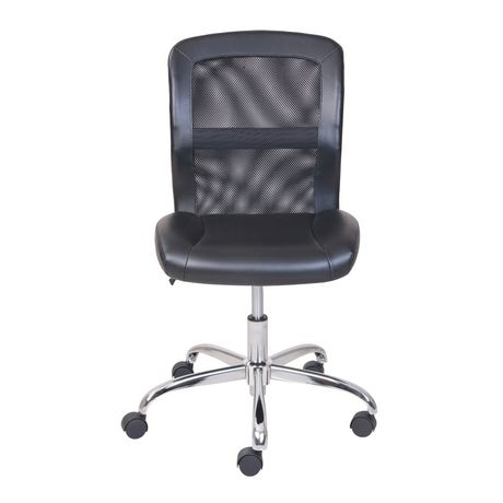 Mainstays Vinyl and Mesh Task Office Chair - image 3 of 5