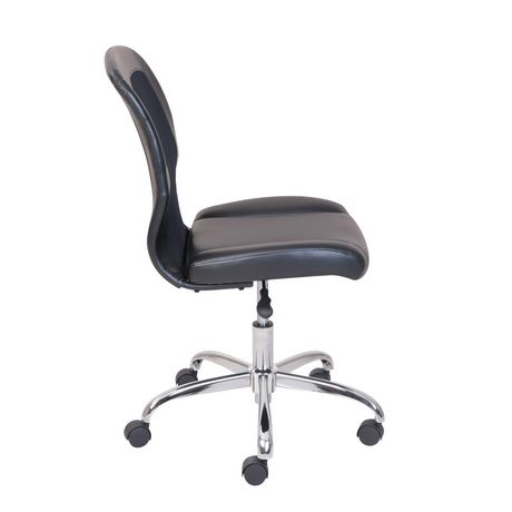 Mainstays Vinyl and Mesh Task Office Chair - image 4 of 5