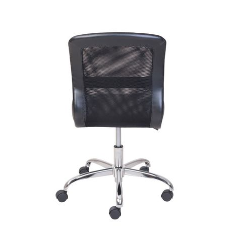 Mainstays Vinyl and Mesh Task Office Chair - image 5 of 5