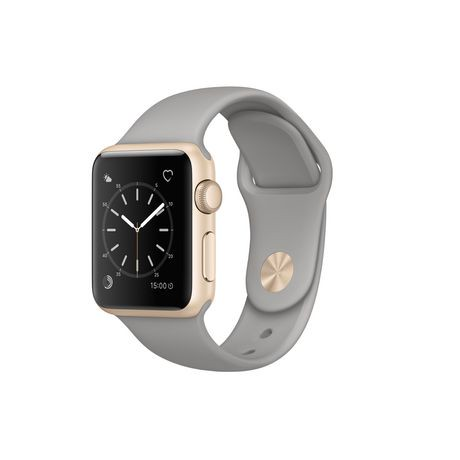 Apple Watch Series 1 38mm Gold Aluminum Case with Concrete