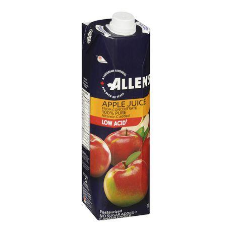 Allen's 100% Pure Apple Juice - image 1 of 4