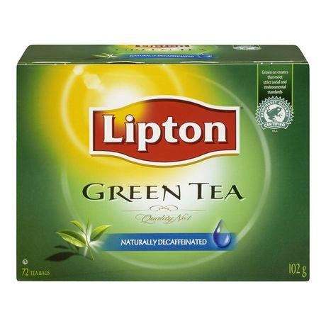 Lipton® Green Tea Naturally Decaffeinated Tea Bags - image 1 of 6