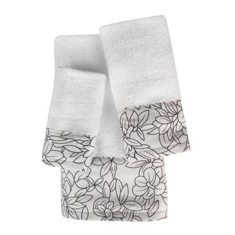 Laurel Printed Cotton Towel Set - image 1 of 1