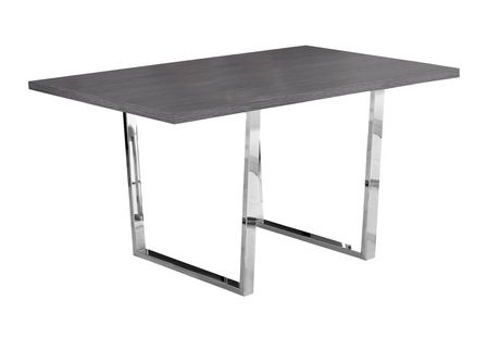 Charmant Monarch Specialties Grey Dining Table