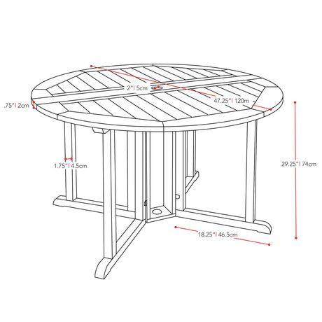 Hauteur d une table a manger meilleures images d for Salle À manger contemporaineavec hauteur table salle À manger
