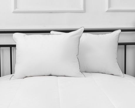 Hotel 250 Thread Count Pillow - Firm (Set of 2) - image 3 of 3