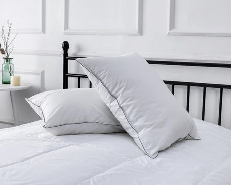 Hotel 250 Thread Count Pillow - Firm (Set of 2) - image 2 of 3