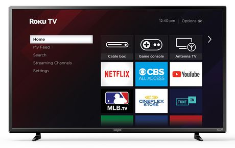 "Walmart Sanyo 43"" 1080p LED Roku Smart TV 79$ - BACK IN STOCK"