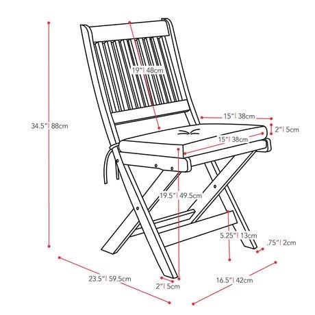 Chaises pliables de hauteur bar miramar pex 369 c de for Chaises longues pliables