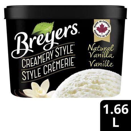Breyers Creamery Style NaturalVanilla IceCream - image 1 of 8