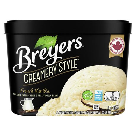 Breyers Creamery Style FrenchVanilla IceCream - image 1 of 8