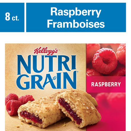Kellogg's Nutri-Grain Cereal Bars 295g - Raspberry, 8 Bars - image 1 of 5