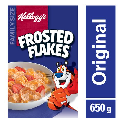 Kellogg's Frosted Flakes Cereal, Family Size, 650g - image 1 of 4