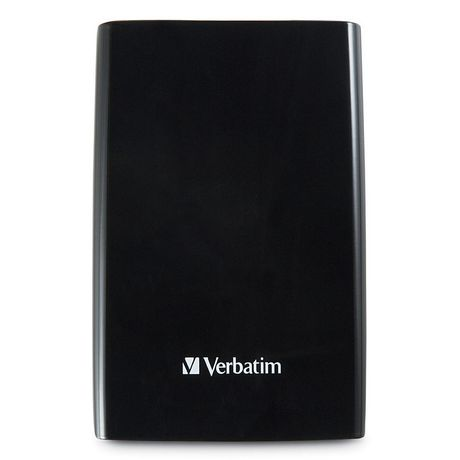 Verbatim 2TB Store 'n' Go Portable Hard Drive, USB 3.0 - Black - image 1 of 4