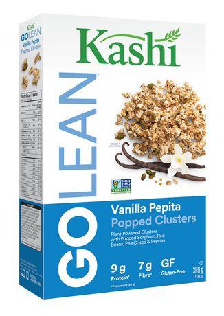 Kashi GOLEAN Popped Clusters Gluten-Free Vanilla Pepita ...