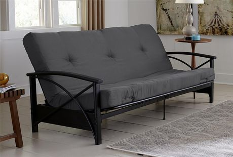 dhp 6   grey futon mattress   walmart canada  rh   walmart ca