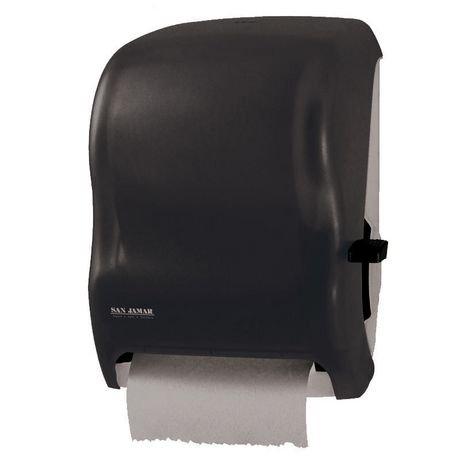 distributeur d 39 essuie tout en rouleau san jamar levier en noir element walmart canada. Black Bedroom Furniture Sets. Home Design Ideas