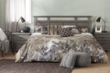 t te de lit tr s grand 78 versa de meubles south shore. Black Bedroom Furniture Sets. Home Design Ideas