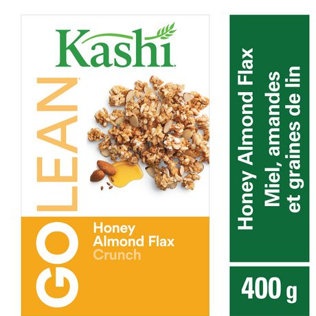 Kashi GOLEAN Honey Almond Flax Crunch Cereal, 400g - image 1 of 5