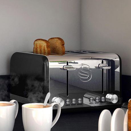Swan Retro 4 Slice Toaster ST19020BN - image 3 of 5