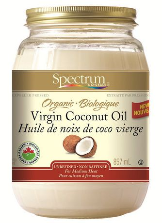 spectrum organic virgin coconut oil unrefined walmart canada. Black Bedroom Furniture Sets. Home Design Ideas