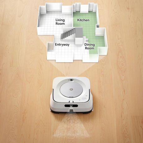iRobot® Braava jet® m6 (6110) Wi-Fi® Connected Robot Mop - image 7 of 9