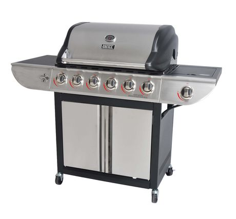 Backyard Grill 6 Burner Propane Gas Grill With Side Burner | Walmart Canada
