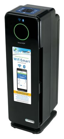 "GermGuardian CDAP4500BCA Purificateur d'air Smart 4 en 1 Wi-Fi de 22 "" - image 4 de 5"