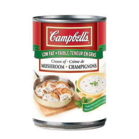 Campbell's Low Fat Cream of Mushroom | Walmart.ca