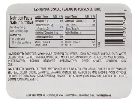 Reser's Fine Foods Potato Salad