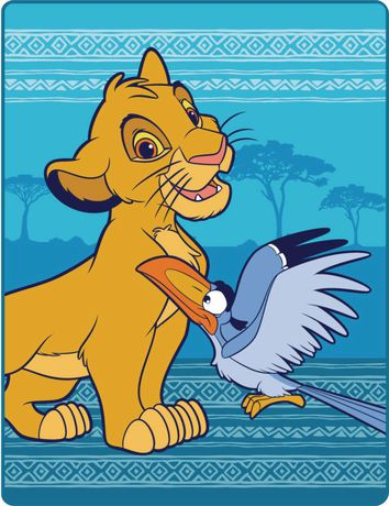 The Lion King Fleece Throw - image 1 of 1